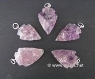 Picture of Amethyst Arrowheads Pendant