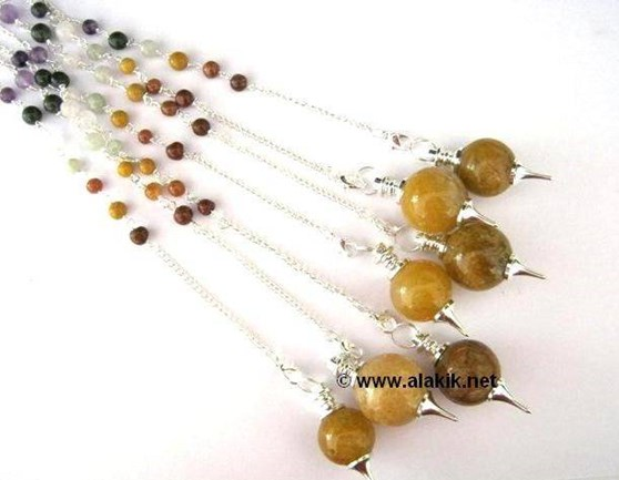 Picture of Ball Pendulum with Chakra Chain