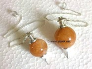 Picture of Golden Quartz Ball Pendulum