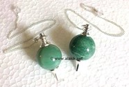 Picture of Green Aveturine Ball Pendulum
