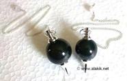 Picture of Black Jasper Ball Pendulum