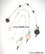 Picture of Tear Drop Ball Pendulum cum Bracelet with small heart