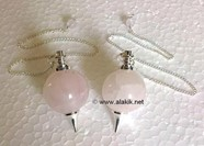 Picture of Rose Quartz Ball Pendulum