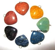 Picture of Chakra Heart Pendant Set