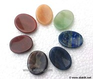 Picture of Chakra Worry stone set