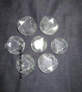 Picture of Crystal Quartz Flat SOD Star