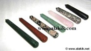 Picture of Mix Gemstone Faceted Massage Wands