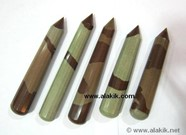 Picture of Narmada River Stone 16 Facet Massage wands