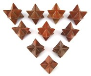 Picture of Red Jasper Merkaba Star