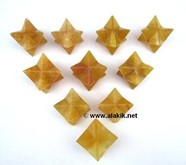Picture of Golden Quartz Merkaba Star