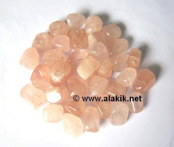 Picture of African Rose Quartz Tumbles
