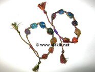 Picture of Chakra Netted Tumble bracelet