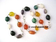 Picture of Chakra Tumble with Crystal beads bracelet