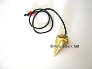 Picture of Basic Drop Brass pendulum with Cord