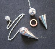 Picture of Silver Ring pendulum with Chain
