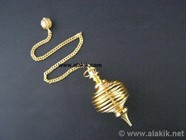 Picture of Golden Round Cage Pendulum