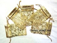 Picture of Satin Pouch Golden (Small)