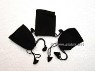 Picture of Black Velvet pouches