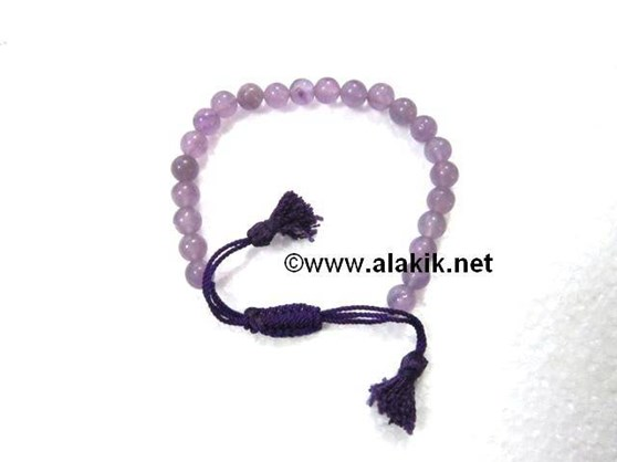 Picture of Amethyst Drawstring Bracelet