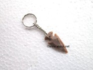 "Picture of 1.5"" Arrowhead Keyrings"