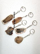Picture of Mix Engrave Slice Key chains