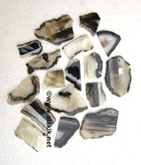 Picture of Black Onyx Slices