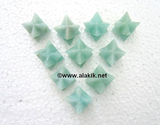 Picture of Amazonite Merkaba Star