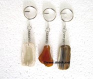 Picture of Agate Slice keychains