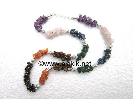 Picture of 7 Chakra Fusewire Necklace