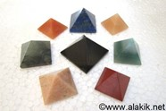Picture of Mix Gemstone pyramids 23-28mm