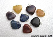 Picture of Mix Gemstone Heart Pendants