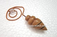 Picture of Beech wood cone shape pendulum