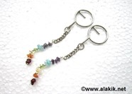 Picture of Chakra stone Key rings