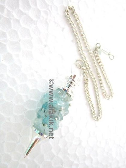 Picture of Aquamarine Fuse wire pendulum