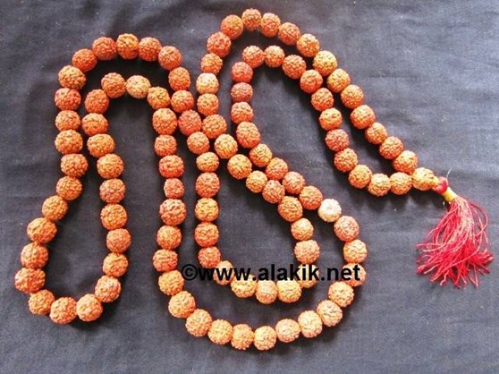 Picture of Big Size Rudraksha Japa Mala 14-15mm