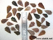 Picture of 1 inch arrowheads