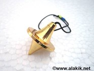 Picture of Golden UFO Pendulum
