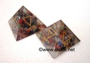Picture of 5 Element Chakra Orgone Pyramid