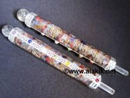 Picture of Chakra Orgone Healing Wands with Engraved Usai Symbols