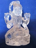Picture of Crystal Quartz Shiva Idol 370g