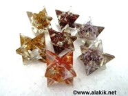 Picture of Mix Gemstone Orgone Merkaba Star