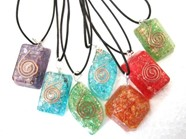 Picture of Mix Design orgone pendants with cords