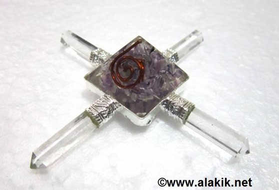 Picture of Amethyst Orgone Pyramid Energy Generator
