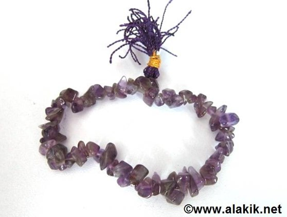 Picture of Amethyst Chips Power Bracelet