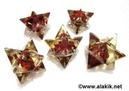 Picture of Red Jasper Orgone Merkaba Star
