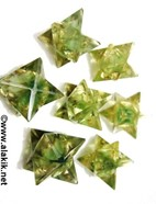 Picture of Green Aventurine Orgone Merkaba Star