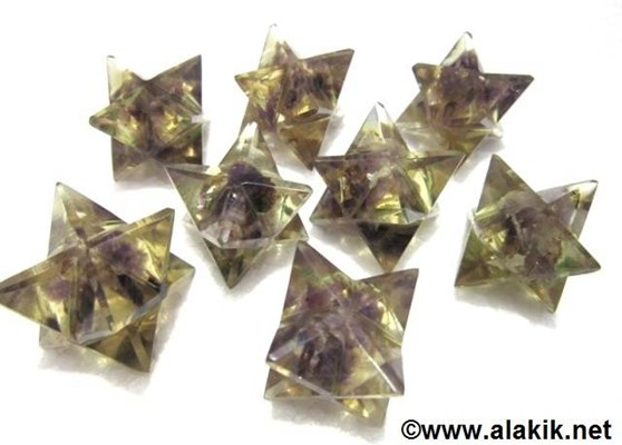 Picture of Amethyst Orgone Merkaba Star