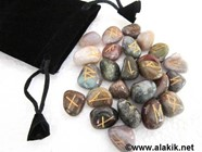 Picture of Fancy Jasper Tumble Rune Sets