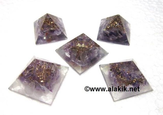Picture of Baby Orgone Amethyst Pyramid