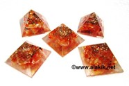Picture of Baby Orgone Red Carnelian Pyramid